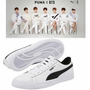 Puma X BTS court star sneakers, authentic
